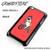 Pug Bicycle For Ipod 4 Case Please Make Sure Your Device With Message Case UY