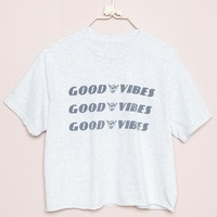 ALEENA GOOD VIBES TOP