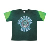 Grateful Dead Men's  Celtic Face Tie Dye T-shirt Multi