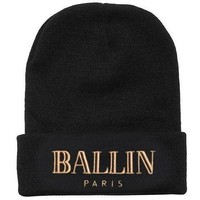 Balmain Hip Hop Women Men Beanies Winter Knit Hat Cap-2
