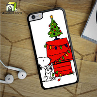 Merry Christmas Snoopy iPhone 6S Plus Case by Avallen