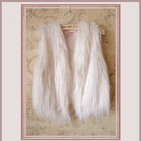 Short Faux Fur Fashion Vests Worn with everything!
