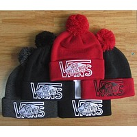 Vans off the wall trendy trendy classic stretch weave hat F
