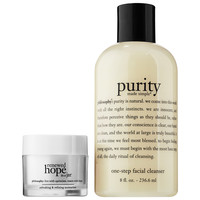 Sephora: philosophy : Purity and Renewed Hope Duo : skin-care-sets-travel-value