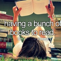 ..confessions of a BOOK addict.. / Having a bunch of Books to read