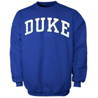 Duke Blue Devils Bold Arch Crew Sweatshirt - Duke Blue