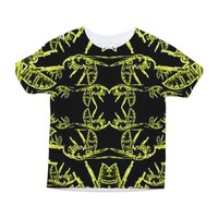 Yellow Jacket Swarm Toddler All Over Print Tee
