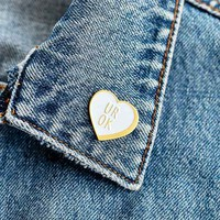 Sick Girls Official Ur Ok Heart Pin