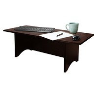 "12""H Miracle Desk Portable Dark Red Cocoa"