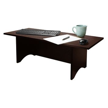 """12""""H Miracle Desk Portable Dark Red Cocoa"""