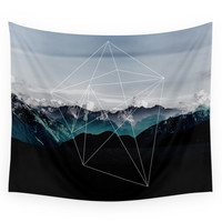 Society6 Mountains II Wall Tapestry