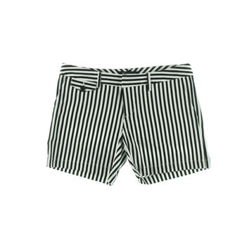 INC Womens Striped Flat Front Casual Shorts