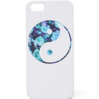 With Love From CA Yin And Yang Floral iPhone 5G/5S Case - Womens Scarves - Multi - NOSZ