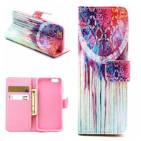 thnic Tribal Print Leather Case Cover Wallet for iPhone 6 / iPhone Plus