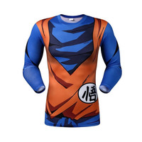 Goku dragon ball z long sleeve armor shirt