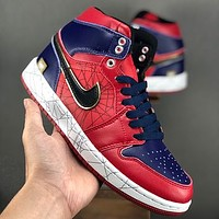 Marvel x Air Jordan 1 Retro High Spider Man Sneaker