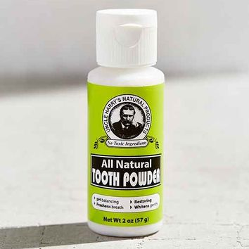 Uncle Harry's Natural Tooth Powder
