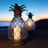 Pineapple Hurricane Lantern