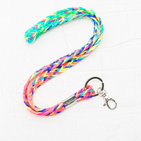 Festival Key Chain in Neon - Urban Outfitters