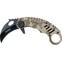 Tac Force TF-620DM Karambit Assisted Opening Knife 4.6in