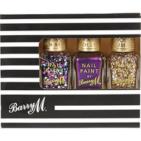River Island Womens Barry M glitter nail polish gift set