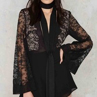 Nasty Gal Lady Lavish Lace Romper