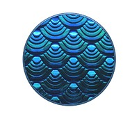 Iridescent Mermaid Wave PopSocket