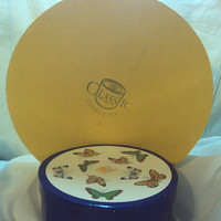 Open the Boxes - Gorgeous Trio Tea Cup Sets with Dessert Plates, Butterflies