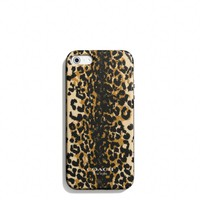 Coach :: IPHONE 5 CASE IN MADISON OCELOT SILICONE