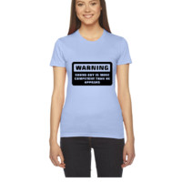 Warning - More Competent - Women's Tee