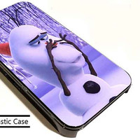 Olaf Baby Unicorn Nose customized for iphone 4/4s/5/5s/5c , samsung galaxy s3/s4/s5 and ipod 4/5 cases