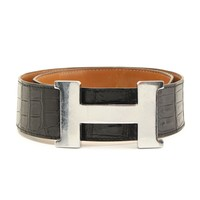 Hermes Constance Croco Big Belt Goods 35777 (94278