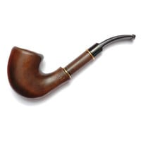 Wooden pipe, Tobacco Pipe, Collection Smoking Pipes. Wooden Handmade. Wood Pipe - FIREPLACE