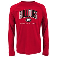 Georgia Bulldogs Arch Tee - Boys 8-20, Size: