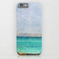 iPhone 6 case At Sea 4 fine art photography phone iPhone 3g 3gs 4 4s 5s 5c 6 6 plus iPod touch Samsung Galaxy S4 S5 S6 aqua blue nautical