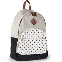 Aeropostale  Womens Polka Dot Backpack - Beige, One