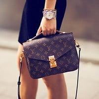 LV Louis Vuitton Popular Women Fashion Shopping Bag Leather Crossbody Satchel Shoulder Bag