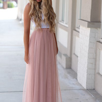Twirl in Tulle Maxi Skirt – Dress Up