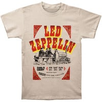 Led Zeppelin Men's  Earls Ticket T-shirt Ivory