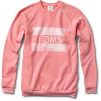 Women's Heather Coral Classic Crew