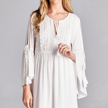 Simply Boho Lace Dress