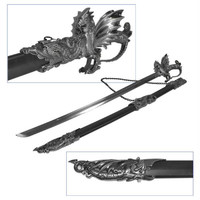 Whetstone  Ornate Medieval Dragon Sword