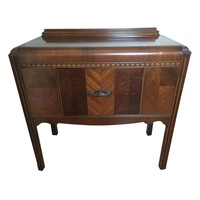 Pre-owned Small 1940s Waterfall Dining Buffet