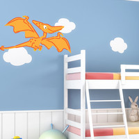 Graphic Wall Decal Sticker Pterodactyl Dinosaur item #MGeise118