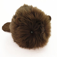 Bernie the Beaver Stuffed Animal Toy Plushie - 6x10 Inches Large Size