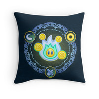 'Lumina Wisp' Throw Pillow by likelikes