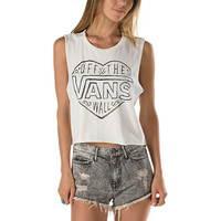 Heart Work Cropped Muscle Tee | Shop at Vans