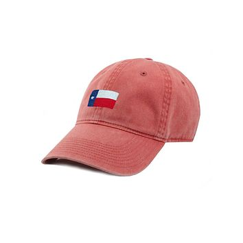 Texas Flag Needlepoint Hat by Smathers & Branson