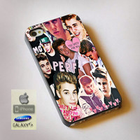 Justin Bieber Collage - Print on Hard Plastic, available for iPhone and Samsung Galaxy. Choose for your device