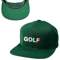 GOLF snapback Odd Future hat Odd Future  cap wolf gang tyler THE CREATOR COLORS